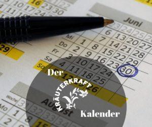 Erster Kräuter-Terminkalender Südtirols