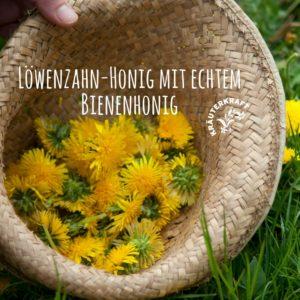 Löwenzahn-Honig einmal ohne Zucker und mit echtem Bienenhonig