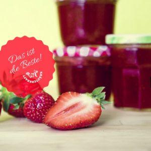Erdbeer-Gundermann-Marmelade
