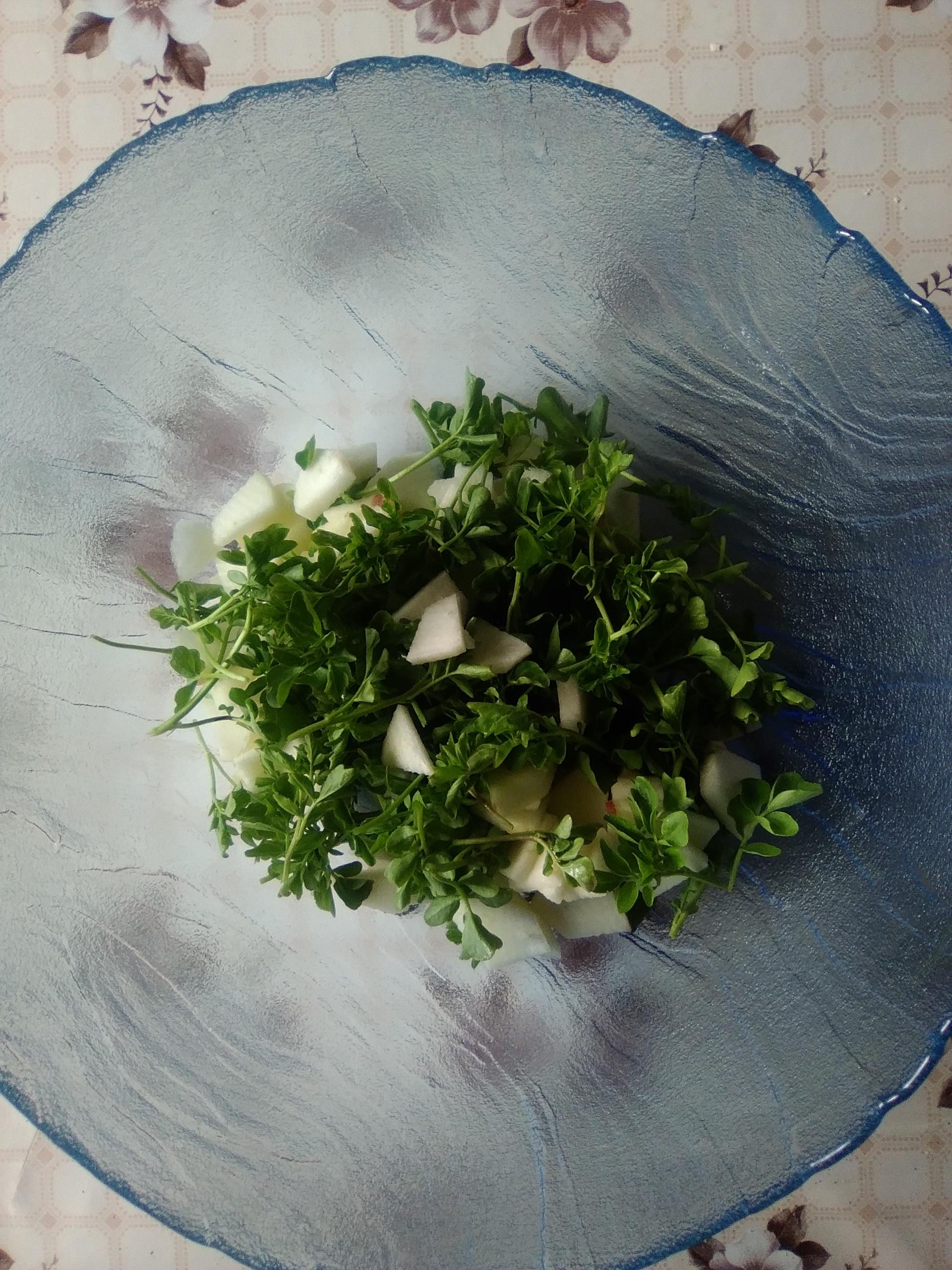 Der Kräuterkraft-Wochenendtipp: Wildkräutersalat mit Brunnenkresse