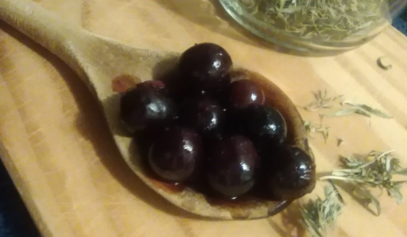 Schlehen-Oliven
