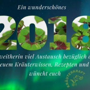 Wünsche und Vorsätze für 2018