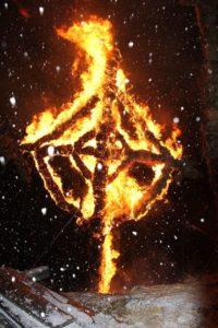 Brennende Hex