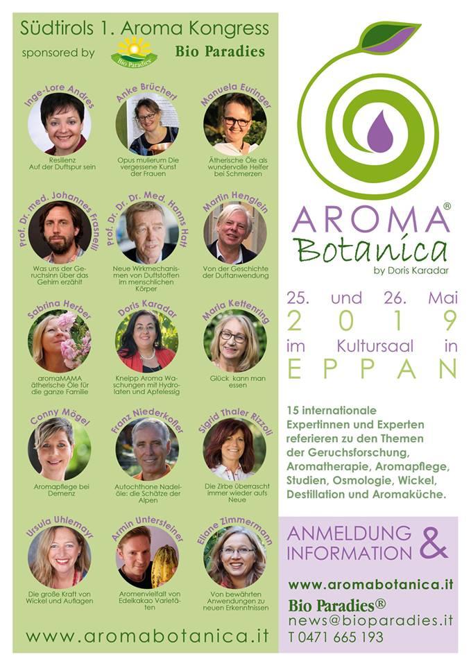 Die Aromatherapie in Südtirol und Aroma Botanica