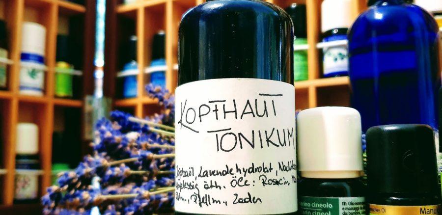 Ätherische Öle gegen Kopfhautjucken