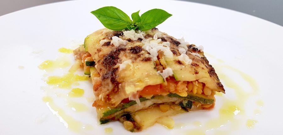 Zucchini-Linsen-Lasagne preisgekrönt