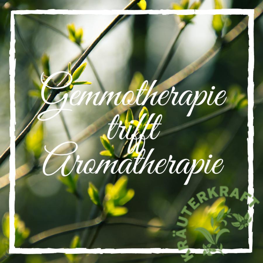 Gemmotherapie trifft Aromatherapie